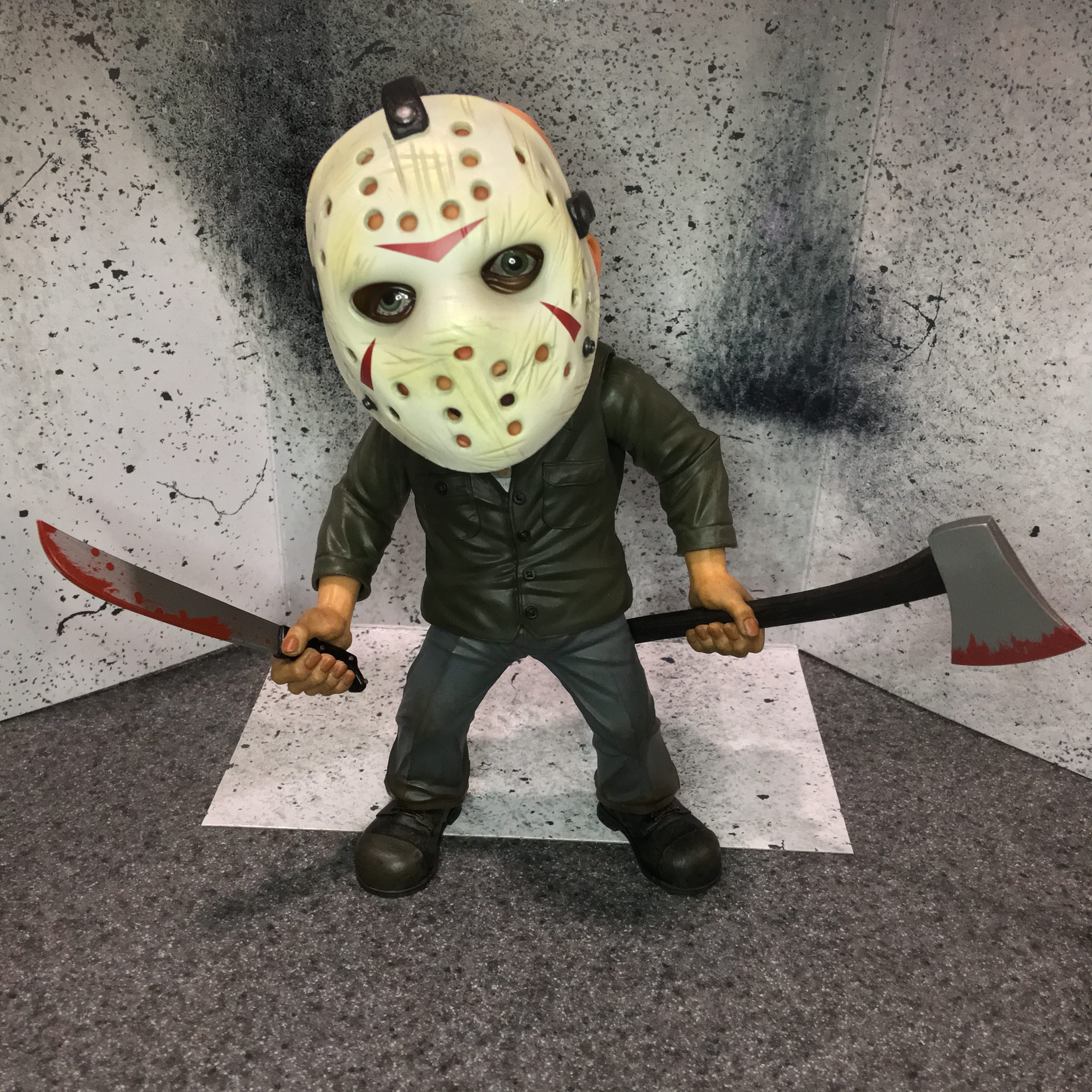 """6/"""" Deluxe Stylized Mezco Friday the 13th Jason Voorhees"""